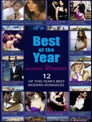 cover image of The Best of the Year--Modern Romance